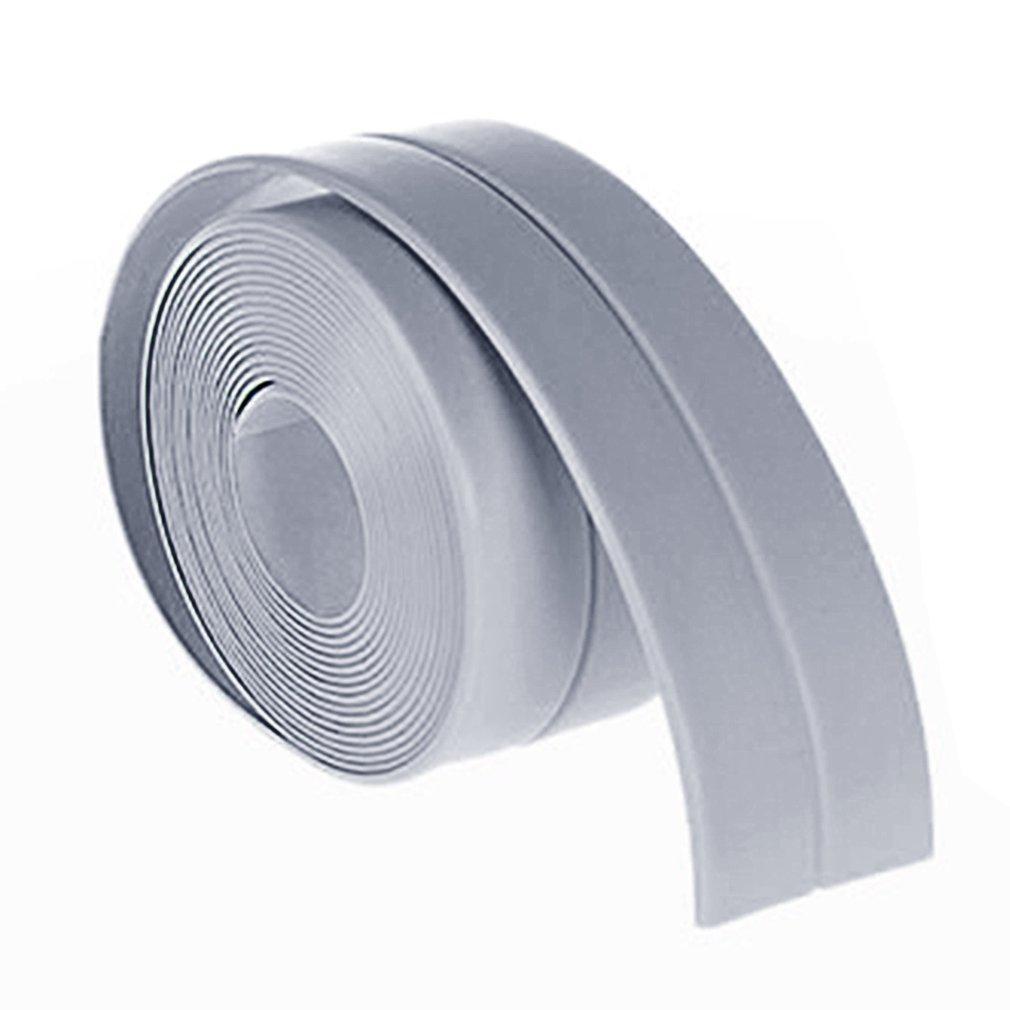 38mm*3.2m Home Kitchen Bathroom Bathtub Wall Sealing Tape Strips ...
