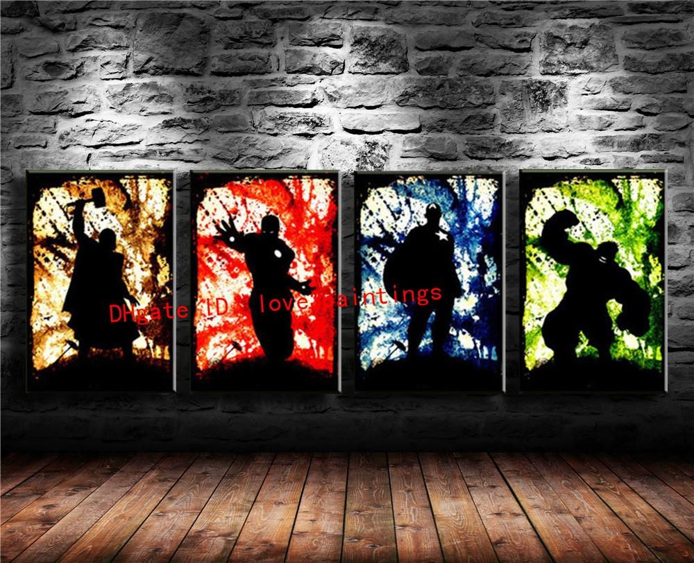 Wonderful Online Cheap The Avengers,Home Decor Hd Printed Modern Art Painting On  Canvas Unframed/Framed By Love3paintings | Dhgate.Com