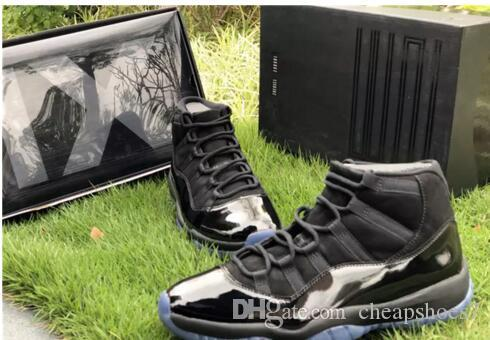 With Og Box Release Cap And Gown 11 Prom Night Blackout 11s