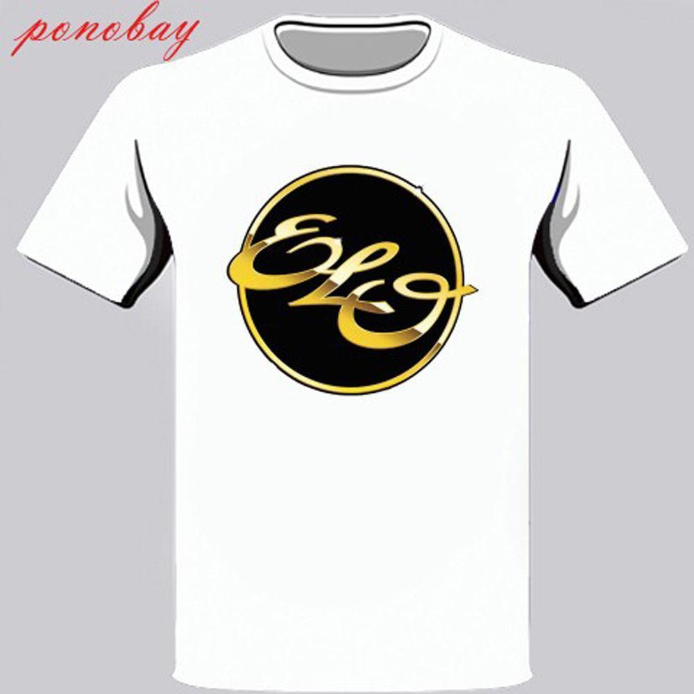 d9ddccd173 Compre Nuevo ELO Electric Light Orchestra Logo Camiseta Blanca Para Hombre  Talla S 3XL A  12.94 Del Linnan00007