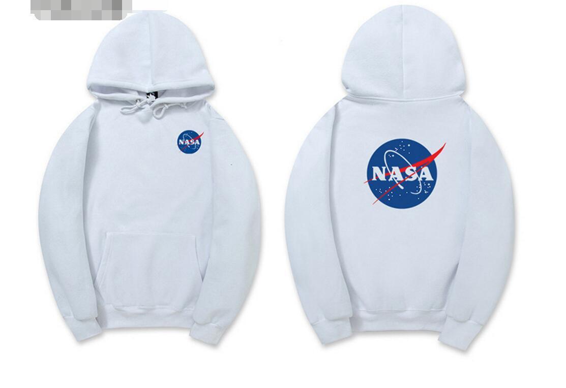 premium selection b8851 b30d8 NASA Hoodie Streetwear Hip Hop Mode Khaki Schwarz Grau Rosa Weiß  Hochwertige Hoodies Damen Herren Hoodies Sweatshirts XXL Plus Größe