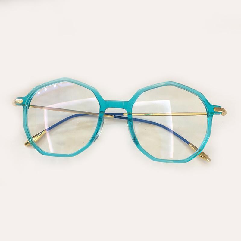 4cc47502ad552 Acheter Rétro Lunettes De Vue Cadre Pour Femmes 2019 Luxe Haute Qualité  Titane Oculos De Grau Femelle Optique Cadres Lunettes Féminines De  87.23  Du ...
