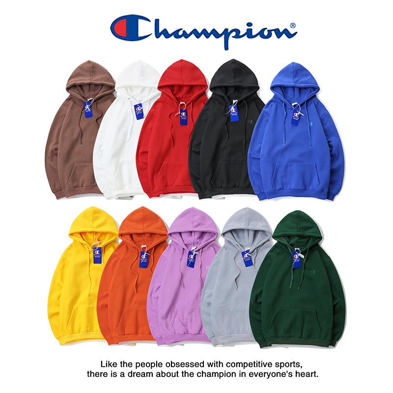 89b9a408ea712 2019 Champions Classic Embroidered Small C Logo Plus Velvet Hoodie  Sweatshirt Men Women Sweater Long Sleeve Pullover Hoodies M 2XL From  Outdoor 888