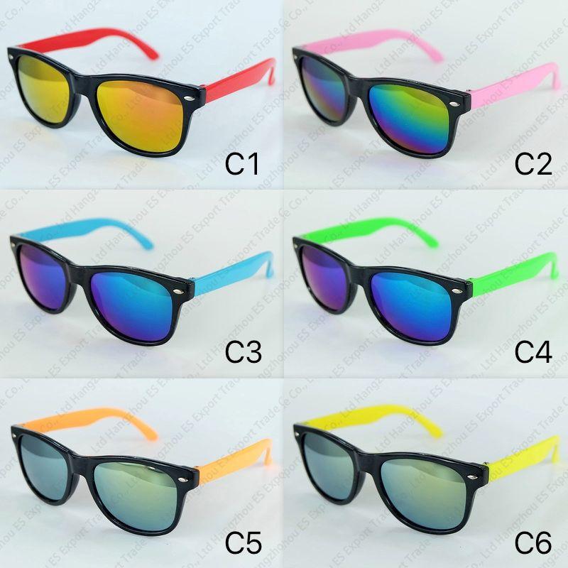 a4dd449e8d Kids Sunglasses Classic Travel Style Sun Glasses For Children Black ...
