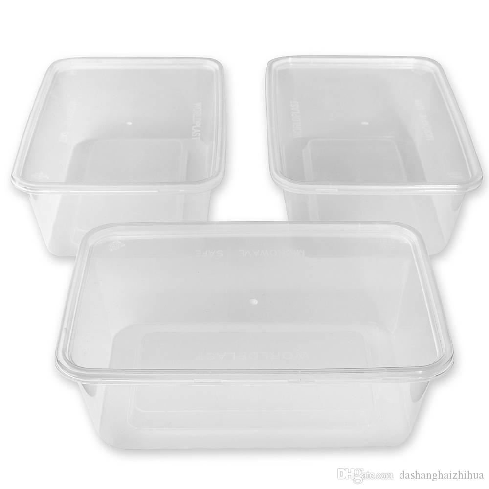 50 Plastic Food Storage Containers With Lids Food Containers Deli
