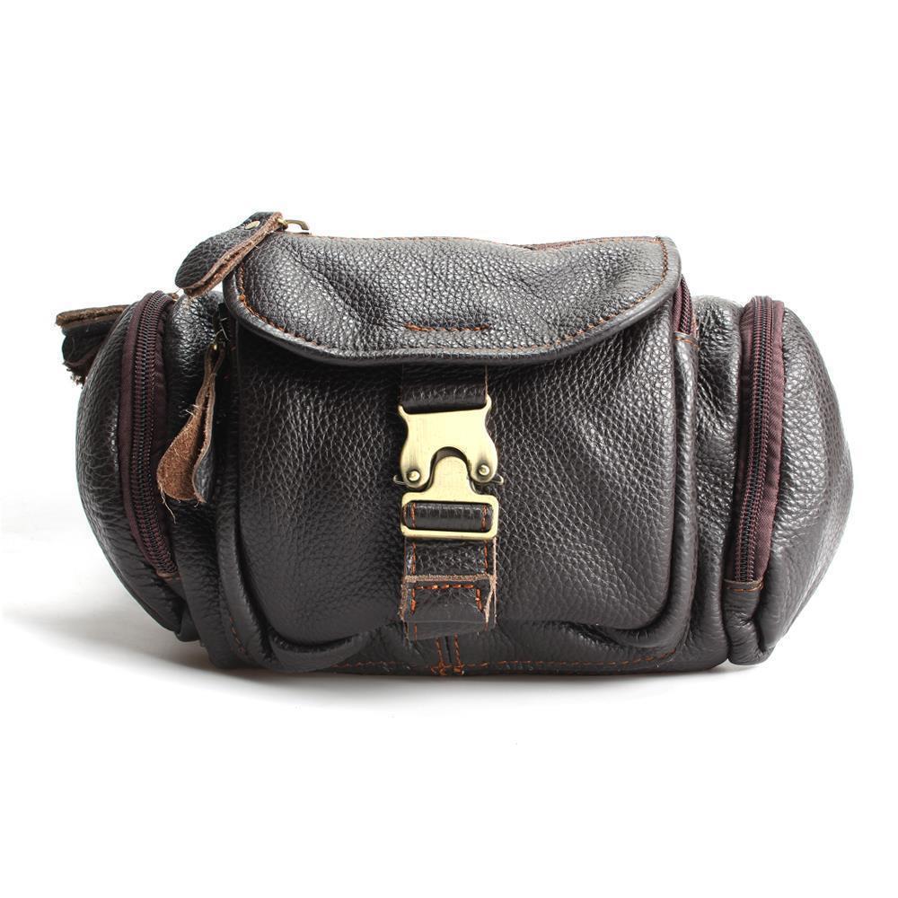 c59e49b7f811 2018 New 100% Genuine Leather Men Bag Fashion Designer Crossbody Bags  Design Men Bag Cowhide Leather Small Messenger For Man Clutch Purses Purses  Wholesale ...