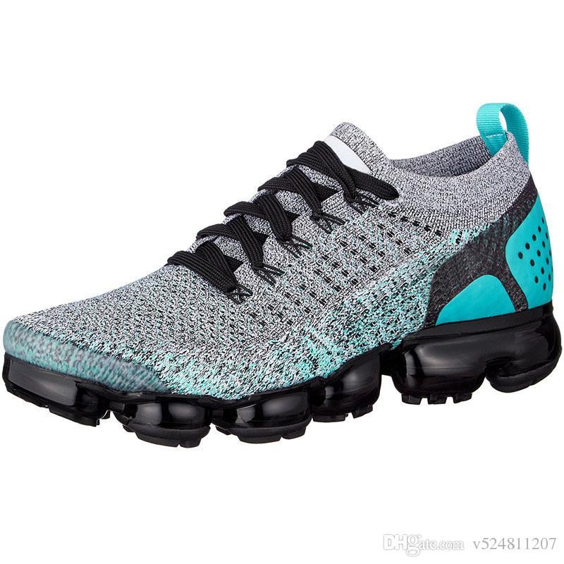 3dee1b56a3 Compre 2018 2.0 Hombres Zapatillas De Running Para Mujer Zapatillas De  Deporte Hombre Blanco Negro Entrenadores Deportes Zapatillas De Deporte De  Diseño 2 ...