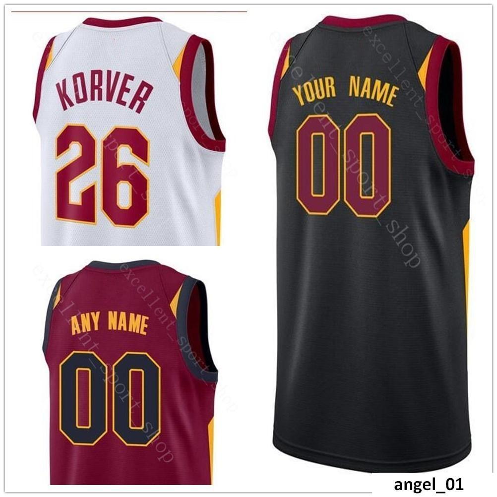 64ef3d794 NCAA College Printed Basketball Jersey 26 Kyle Jose Korver Calderon ...