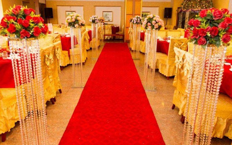 Clear Wedding Centerpiece Acrylic Bead Strands 120cm Tall Wedding
