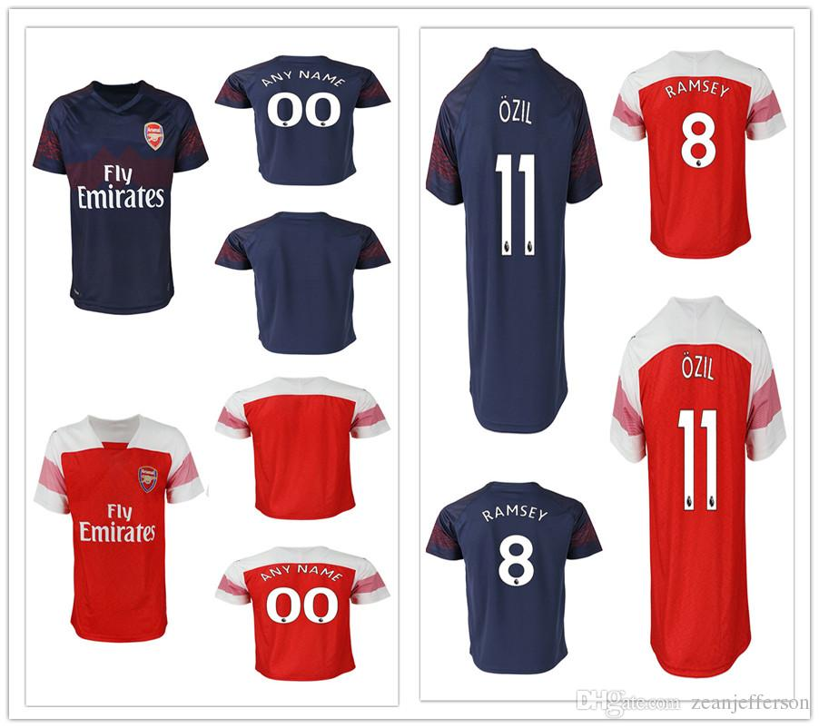 big sale 8a94d 4e002 discount code for arsenal 8 ramsey red home long sleeves ...