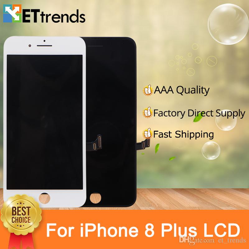 Lifetime Warranty Quality AAA Display for iPhone 8 Plus Lcd Screen Assembly  Factory Directly Supply Cold Press Frame with Fast Shipping