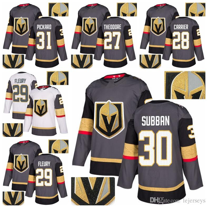 2019 2018 Stanley Cup Golden Knights Hot Drilling Jersey 27 Shea
