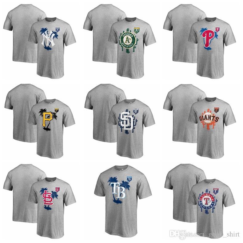 491f797726a30 New York Yankees Oakland Athletics Philadelphia Phillies Pittsburgh Pirates  San Diego Padre Giants Fanatics Spring Training Vintage T Shirt T Shirt  Shop ...