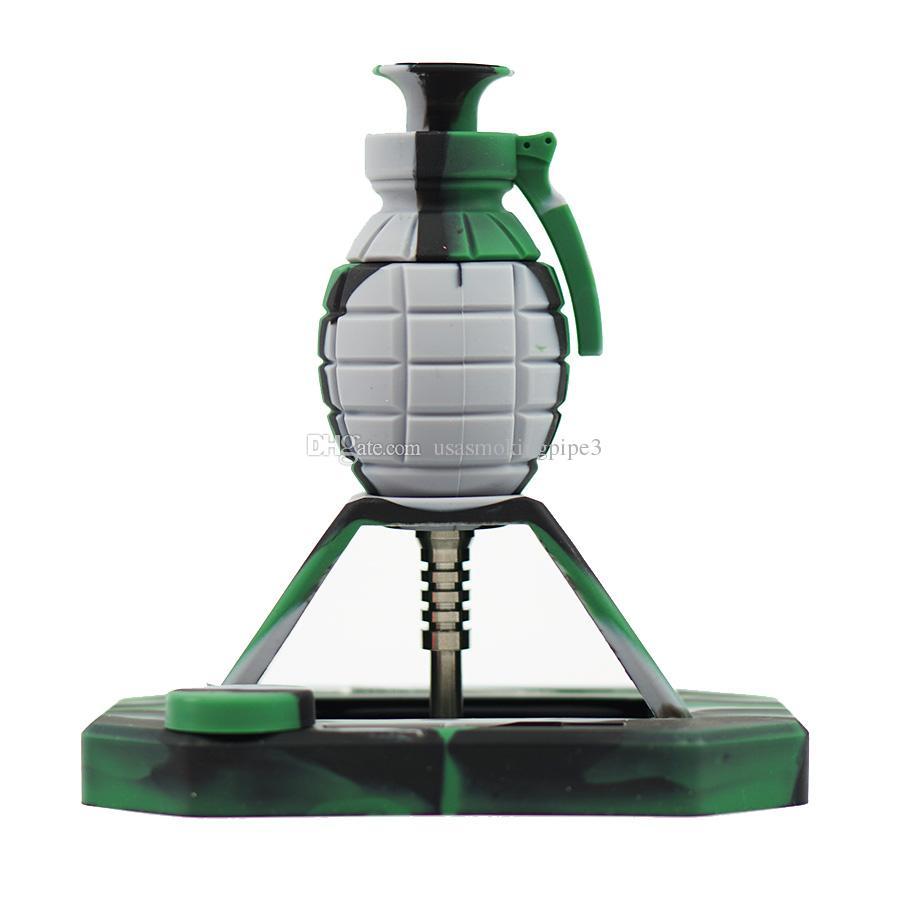 Комплекты для копчения трубок для гранат с 14 мм титановым наконечником