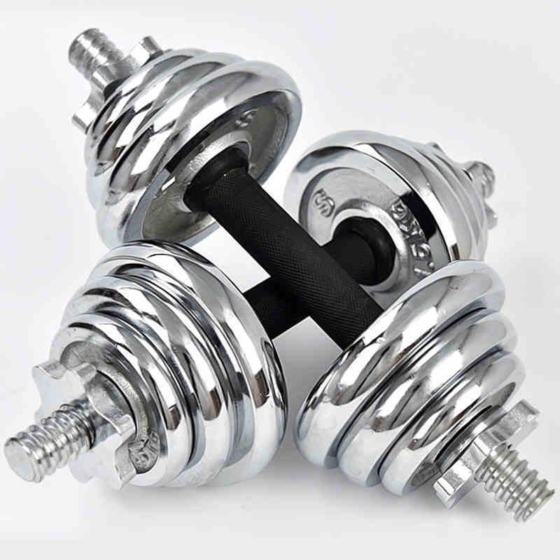 d8ebb98a4 2019 CHAOKAI 10kg Adjustable Electroplating Weights Man Rubber ...