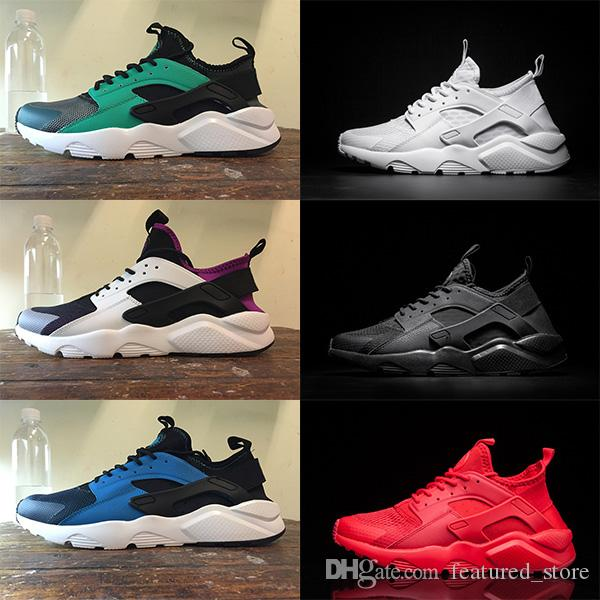 2018 new Air Huarache Classical Triple White Black red gold men women Huarache Shoes Huaraches sports Sneakers Running Shoes size 36-45 clearance store cheap price latest collections cheap price free shipping pre order professional online latest sale online lnvwob