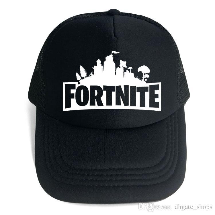 2019 Fortnite Trucker Cap Hat Game Fans Cool Mesh Caps Summer Breathable Baseball  Net Cap Hip Hop Adjustable Visor Outdoor Hat For Men Women 2018 From ... 6939e282a207