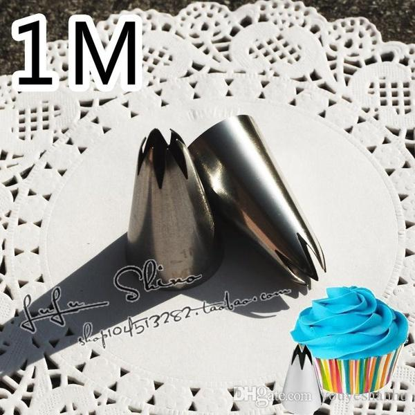 Stainless Steel Nozzles Rose Icing Piping Pastry Decorating Tips Cake Cupcake Decorator Rose Kitchen Accessories