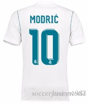 ac568da3185 1718 Real Madrid TOP Thai Quality Luka Modric Customized Soccer Jerseys  Discount Cheap Football Jerseys BENZEMA RONALDO Football Shirts Canada 2019  From ...