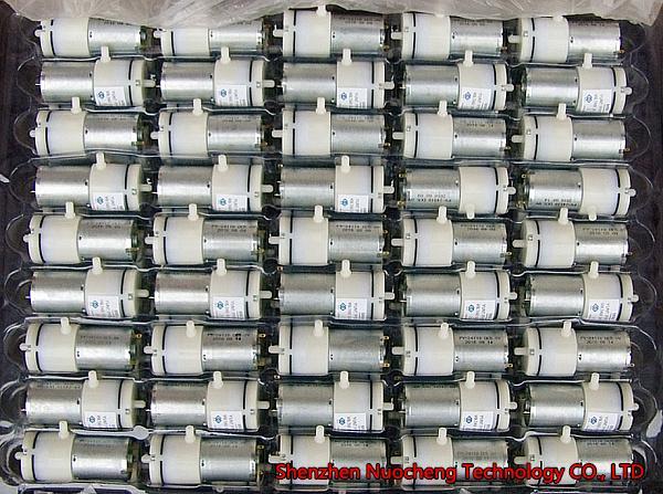 Brand new 370 micro Air pump DC5V 6V Self-priming pump Vacuum pump for breast pump~