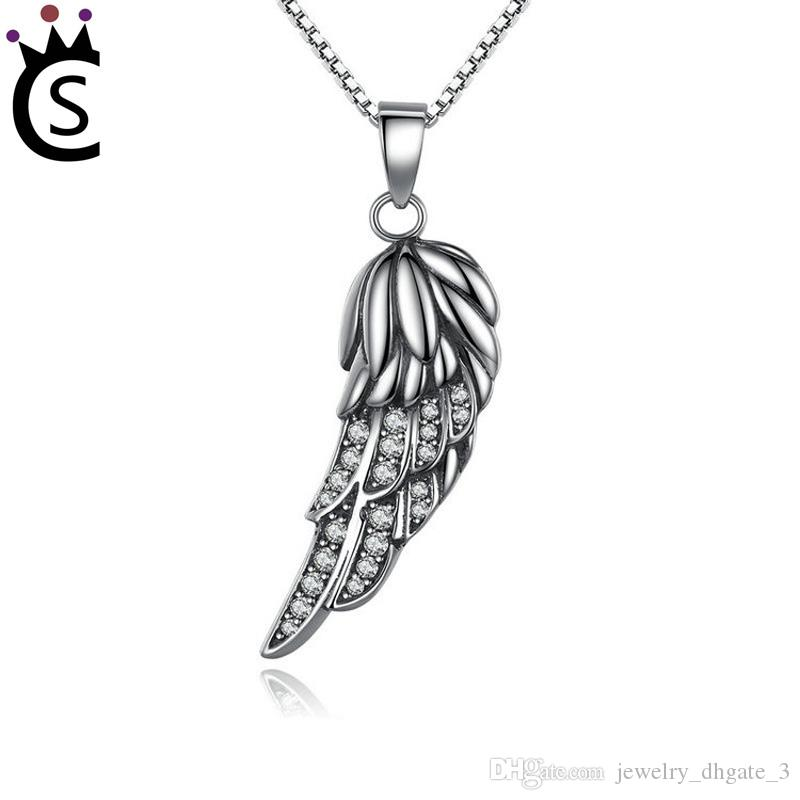 159f4e6db 2019 Authentic 925 Sterling Silver Bead Charm Angel Wings With Zircon  Pendant Beads Fit Women Pandora Bracelet Bangle DIY Jewelry From  Jewelry_dhgate_3, ...