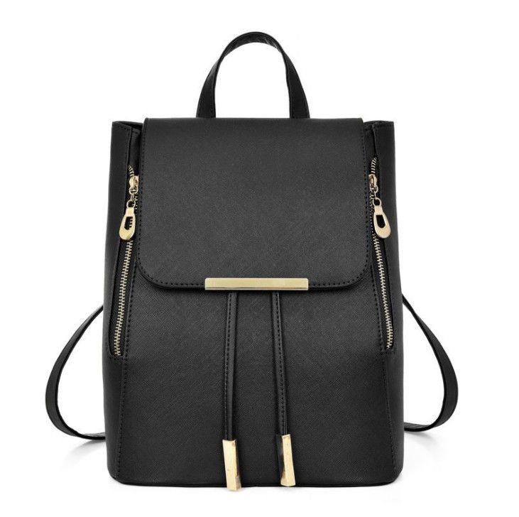 bc1878d65a 2018 Knapsack Student Backpack Fashion Leisure Women Shoulder Bag High  Quality PU Material Backpack Style Women Handbag Osprey Backpack Tool Backpack  From ...