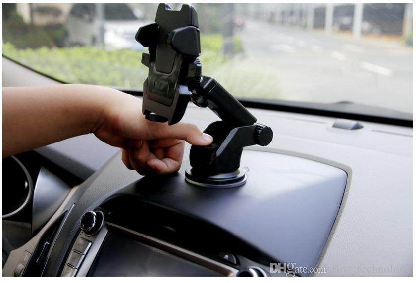 유니버설 자동차 휴대 전화 홀더 스탠드 대시 보드 앞 유리 아이폰에 대 한 스티커 휴대 전화 홀더 삼성 GPS