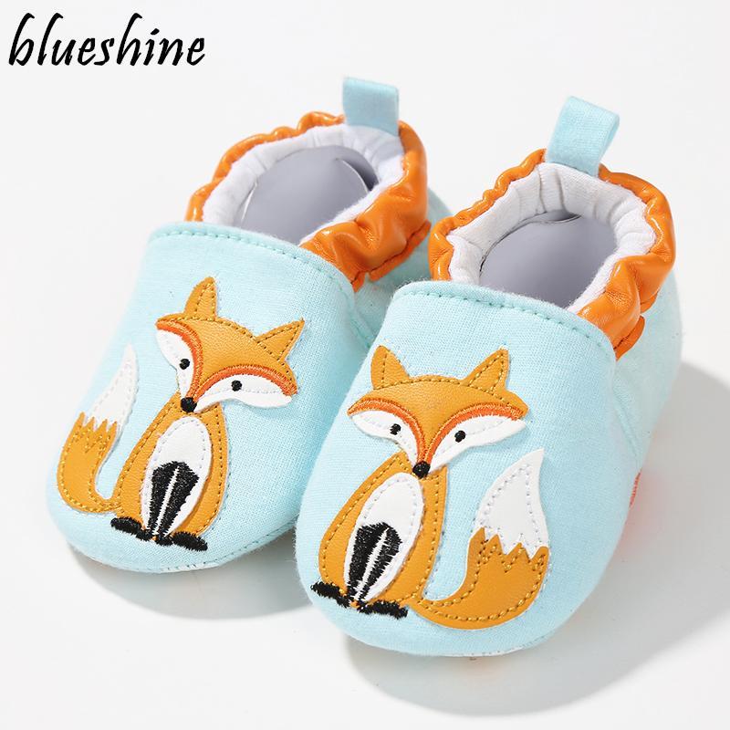 Fashion Cotton Cloth First Walker Cartoon Baby Boy Girls Shoes Bebe Toddler  Moccasins 0-24M Non-slip Soft Bottom Shoes Shoes Bebe Toddler Moccasins Bebe  ... 791da745e