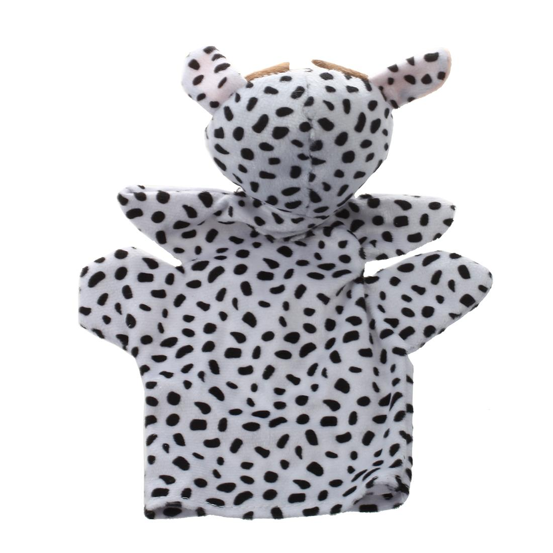 Cute Baby Child Zoo Farm Animal Hand Sock Glove Puppet Finger Sack Plush Toy NewModel:Cow
