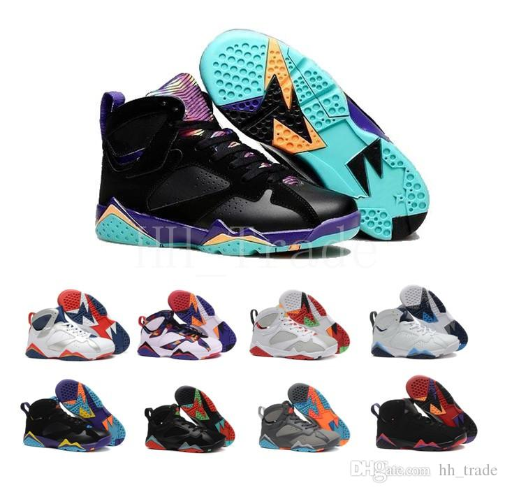 timeless design 34c84 665b5 Cheap Women Basketball Shoes 7 VII Bordeaux Hare Bunny Raptor French Blue  Hot Lava Verde Black Red 7s Sneakers Zapatos Mujer Sports Shoes Jordans  Running ...