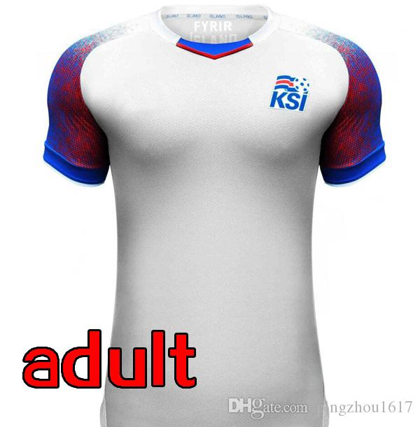 ... cost charm 3653c 743d6 2018 world cup team iceland soccer jerseys 2017  iceland home blue thai 8df321266