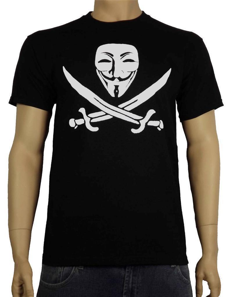 Anonymous piracy t shirt guy fawkes mask v for vendetta disobey hacker t shirt online buy cool tees online from yubin3 14 67 dhgate com