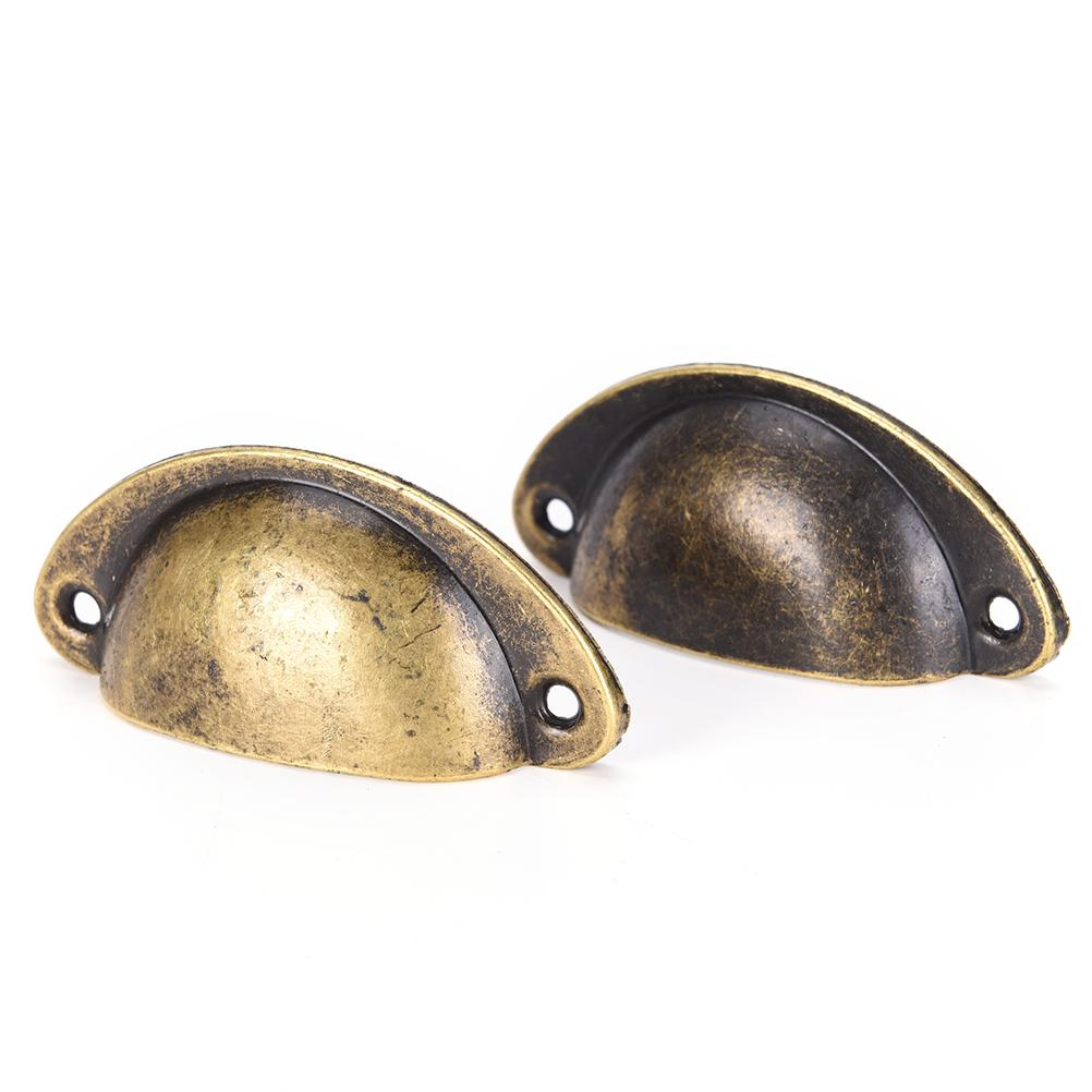 2018 Cupboard Antique Brass Shell Pull Handles Retro Metal Kitchen Drawer  Cabinet Door Handle Furniture Knob Hardware From Copy03, $29.25 | DHgate.Com - 2018 Cupboard Antique Brass Shell Pull Handles Retro Metal Kitchen