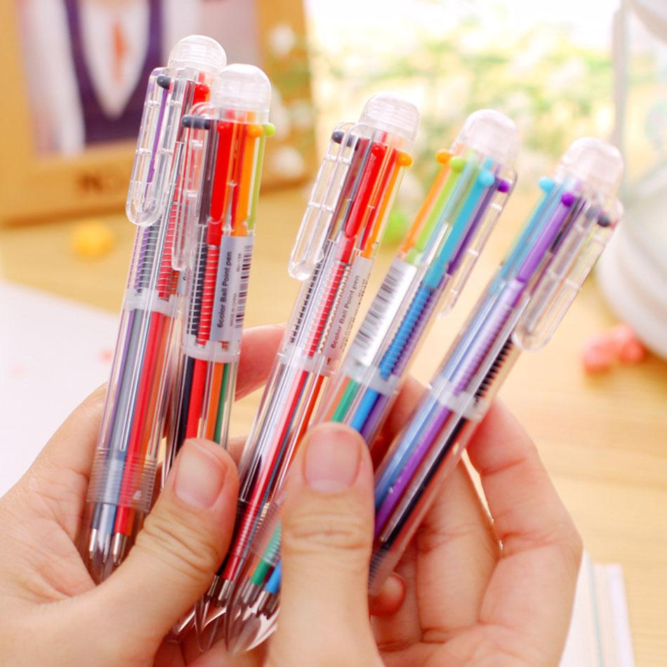 Refill Ballpoint Pen Creative Writing Colorful Multi Color Cute Office  School Stationery Gifts For Kids Stationery Gift Ballpoint Pen Pen Creative  Online ...
