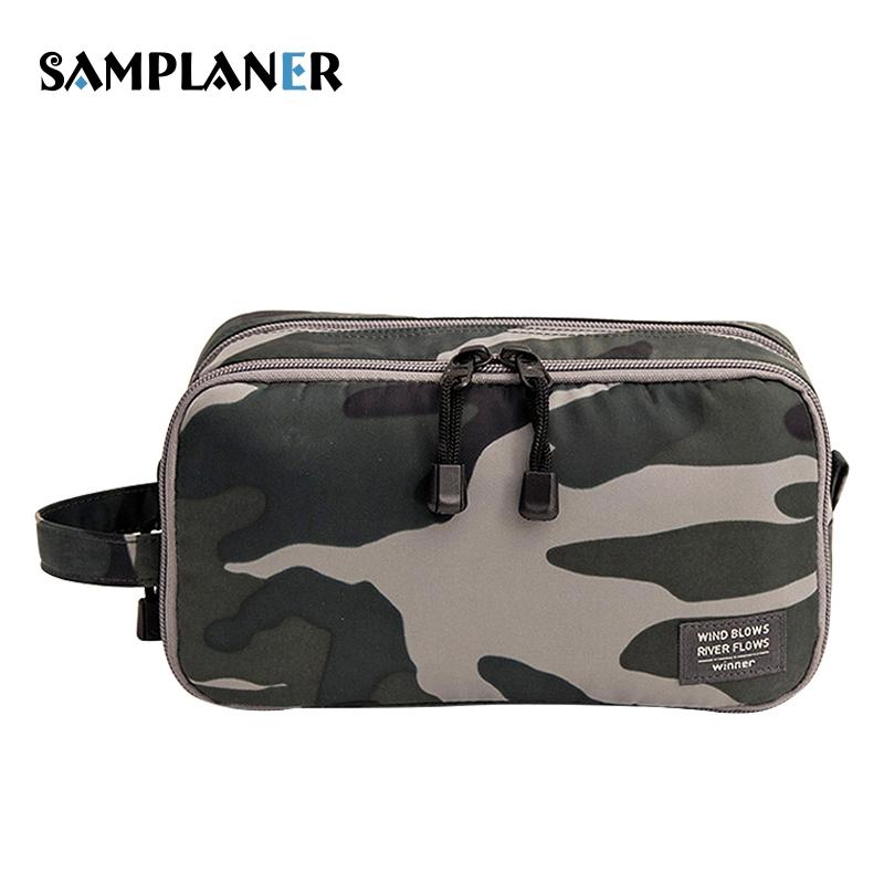 2019 Samplaner Camouflage Cosmetic Bags Men Travel Toiletry Bag Shaving Kit  Cosmetic Pouch Cases Women Cosmetics Bags For Make Up From Feetlove 640af6b61af58