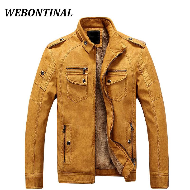 wholesale PU Faux Casual Man Jackets Men Leather Jacket Male Coats Winter Warm Velvet Hombre korean Moto Motorcycle Outerwear