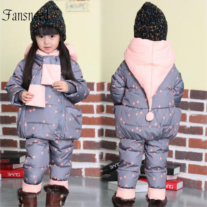 4b635c723 1 3 Years Old Baby Winter Clothes Boys And Girls Warm Down Suits ...