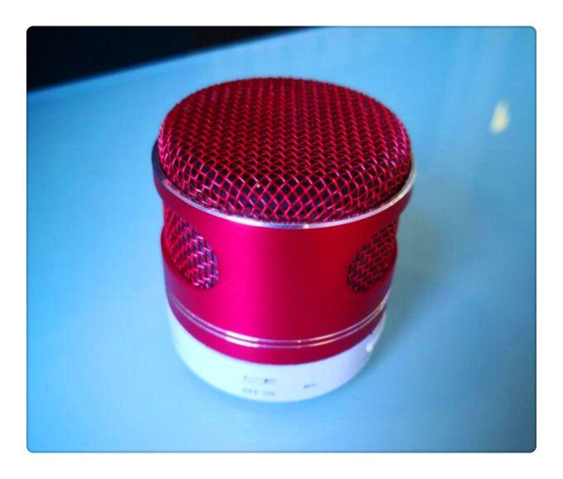 Prodduct LED Speaker S9 A15 Enhanced Speaker 3 LED Light Ring Super Bass Metal Mini Portable Beat Hi-Fi Bluetooth Handfree