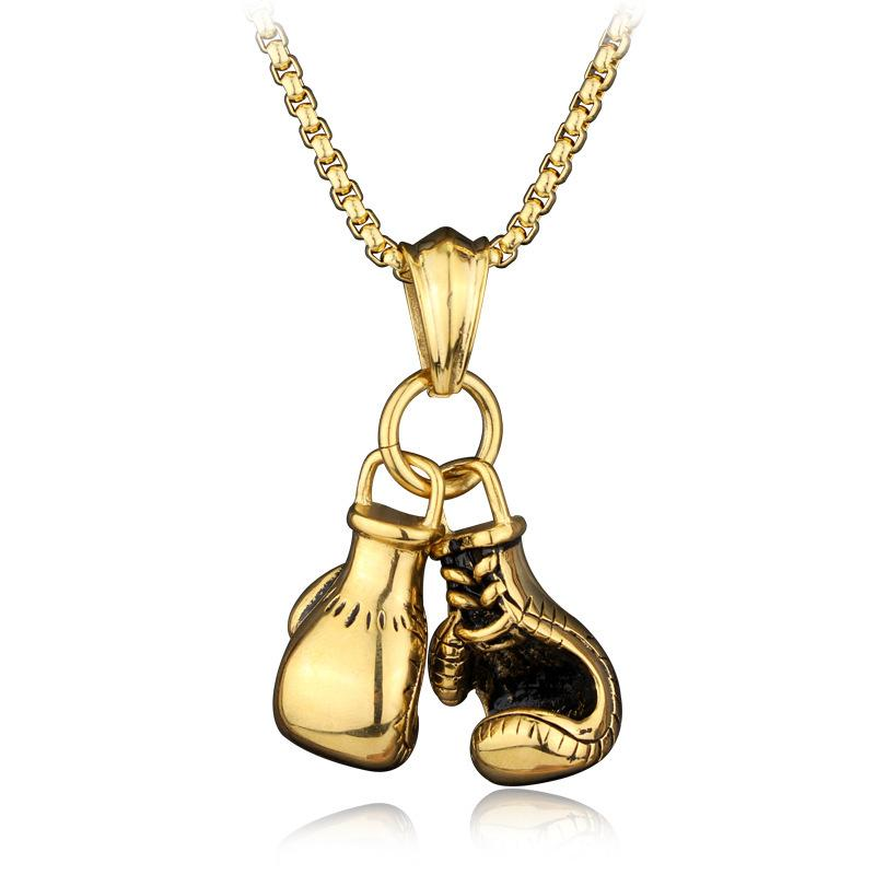 Wholesale boxing gloves pendant necklace personalized couple biker wholesale boxing gloves pendant necklace personalized couple biker design gold silver plated boxing glove charm jewelry initial necklace personalized aloadofball Gallery