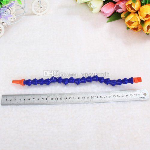300mm Plastic Flexible Adjustable Water Oil Coolant Pipe Hose Round Nozzle B00037