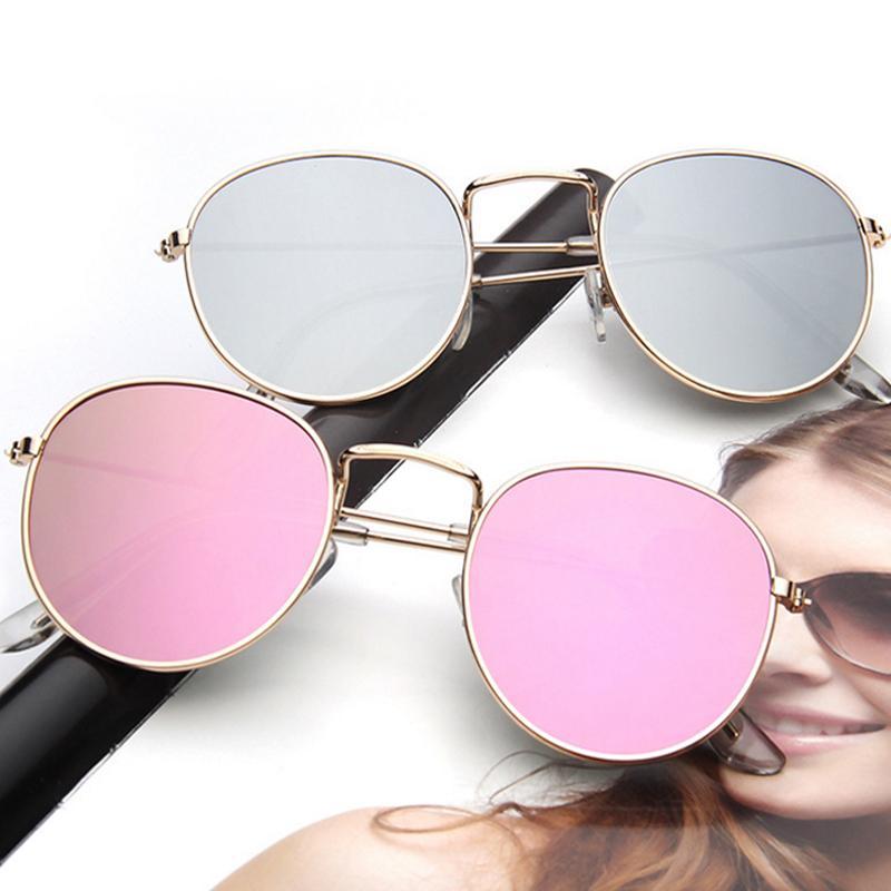 Compre CLUBE DESEJO 2017 Moda Óculos De Sol Para As Mulheres Retro Rodada  Óculos De Sol Das Mulheres Liga Espelho Óculos De Sol Óculos De Sol Oculos  De Sol ... ddd683dccb