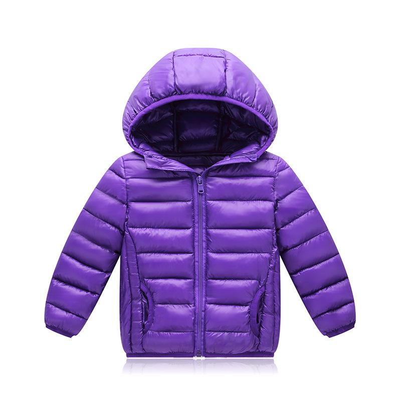 04492872a Baby Girls Parkas 2018 Autumn Winter Jackets For Girls Down Jacket Kids  Warm Hooded Outerwear Coat For Boys Jacket Children Coat