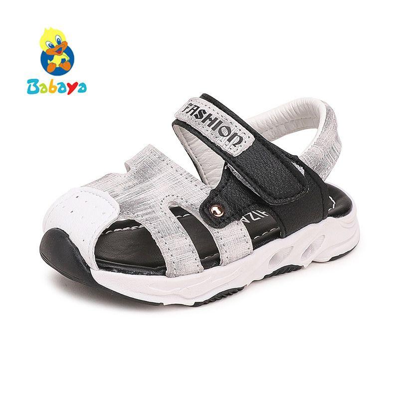 721f4f2bc92 Compre 2018 Verano Sandalias De Bebé Niñas Niños De Cuero Suave De La Vaca  1 2 Años De Edad Nueva Moda Bebé Zapatos Casuales Zapatos De Playa Para  Niños A ...