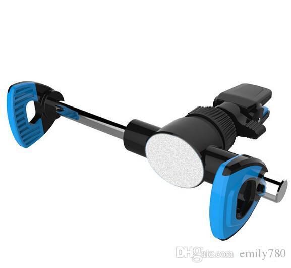 Universal 360 graus pára-brisa do carro montar celular telefone celular clipper giro do veículo suportes titulares suporte para iphone 6 7 samsung lg