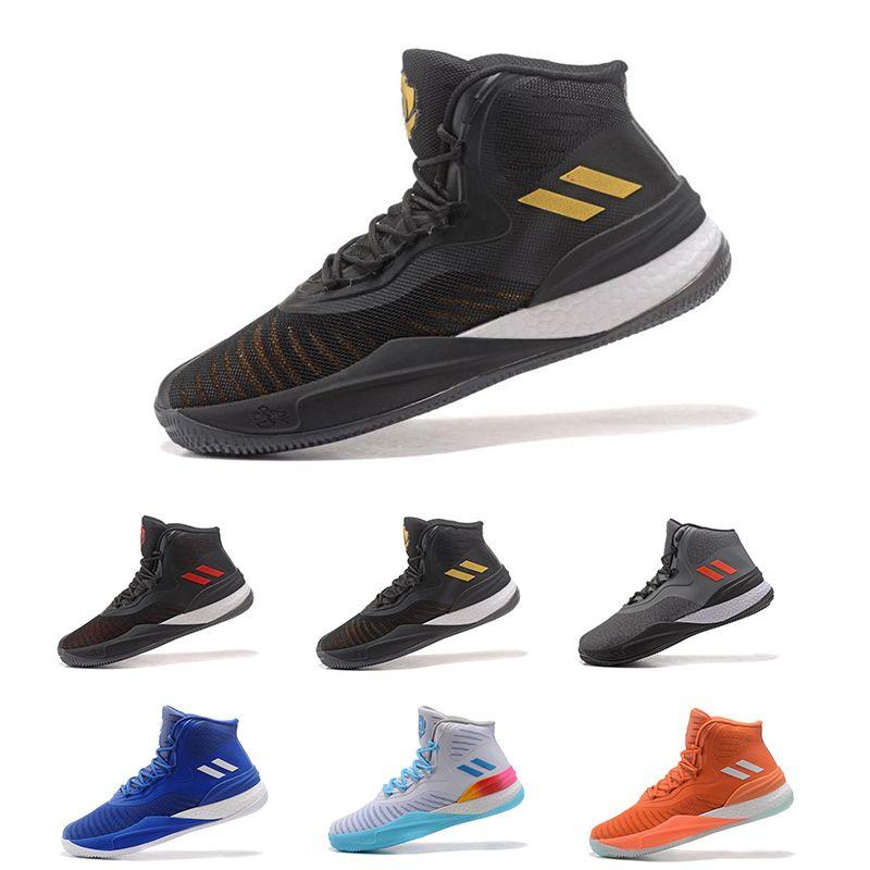 bde99f46 Compre Adidas 2018 Nueva Llegada DERRICK ROSE'S D ROSE 8 SIGNATURE Knit  Ultra Para Hombre Zapatillas De Baloncesto All Star Basketball Sneakers  Talla 7 11.5 ...