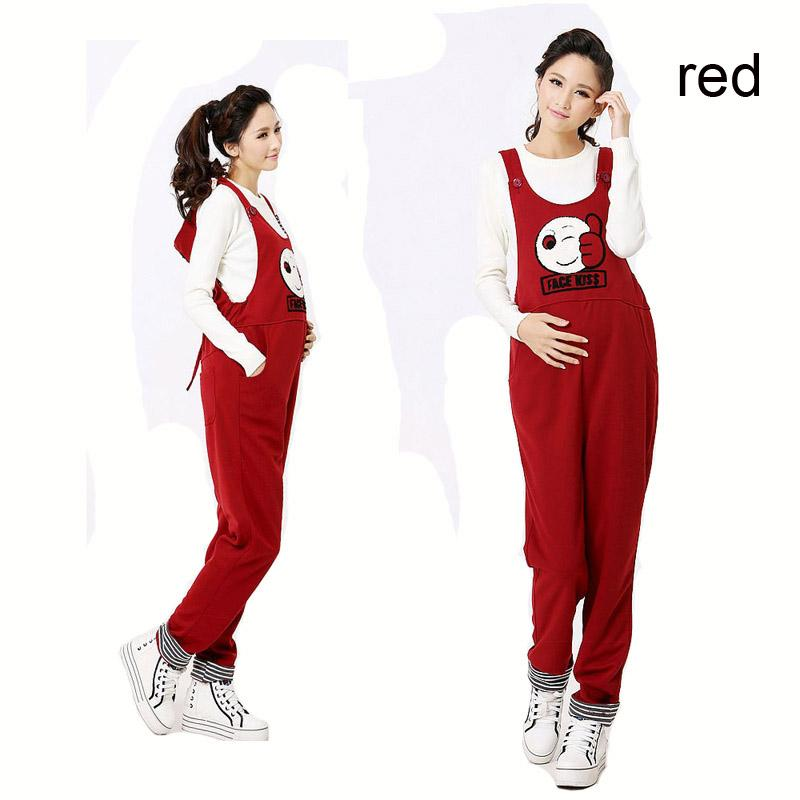 983ca109173 Casual Maternity Long Pants Pregnancy Overalls Jumpsuits Rompers ...