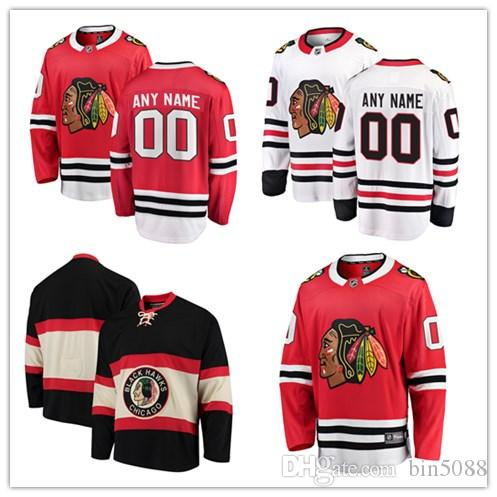 980482d69 Custom 2018 Chicago Blackhawks Jersey Personalized Any Name Any Number  Stitched Men Women Youth Hockey Jerseys S 4XL UK 2019 From Bin5088