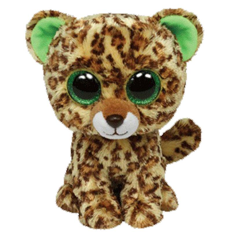 Cheap Ty Beanie Boos Plush Animal Doll Speckles The Leopard Soft Stuffed  Toys 6 15cm e7e1e5d28776