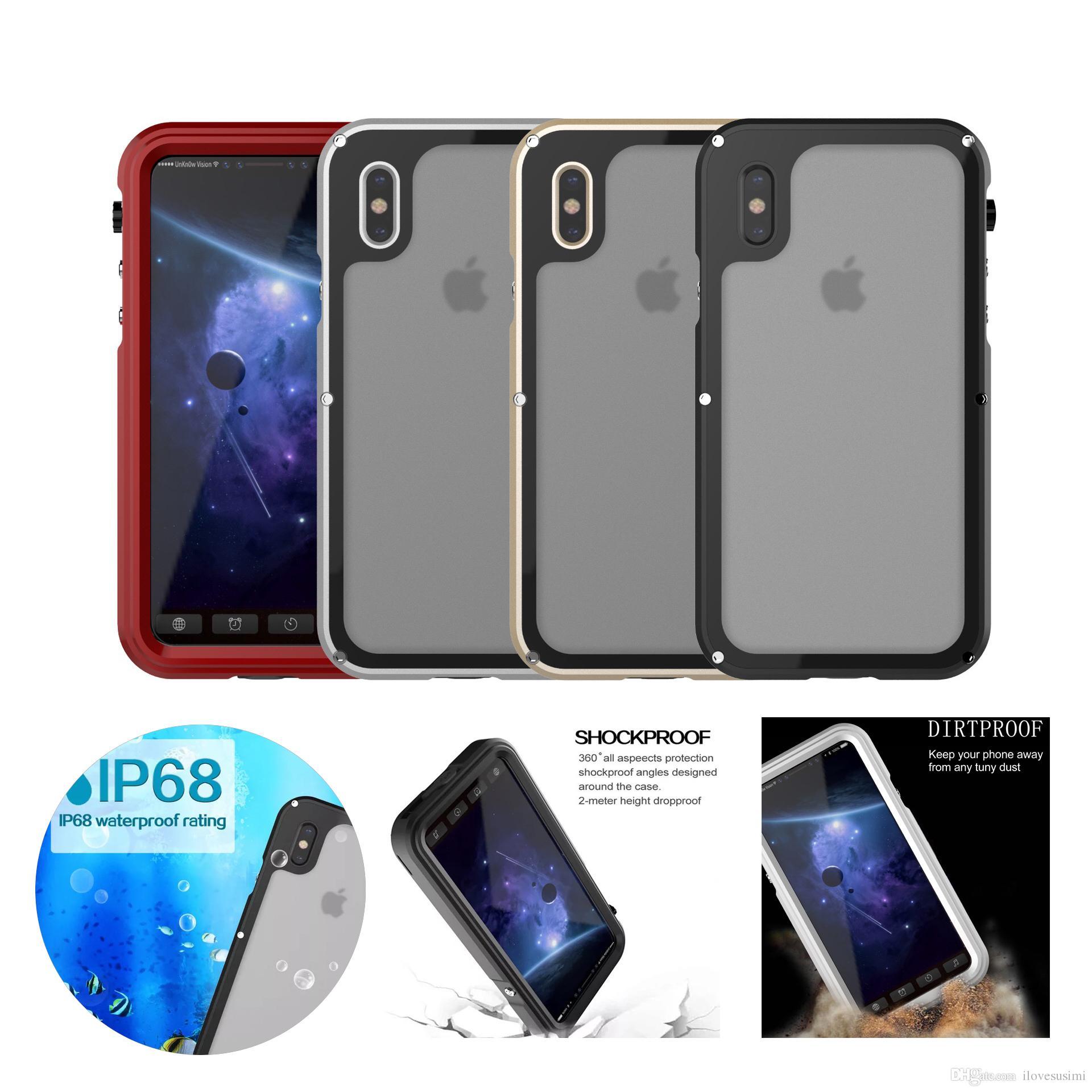 coque etanche et antichoc iphone x