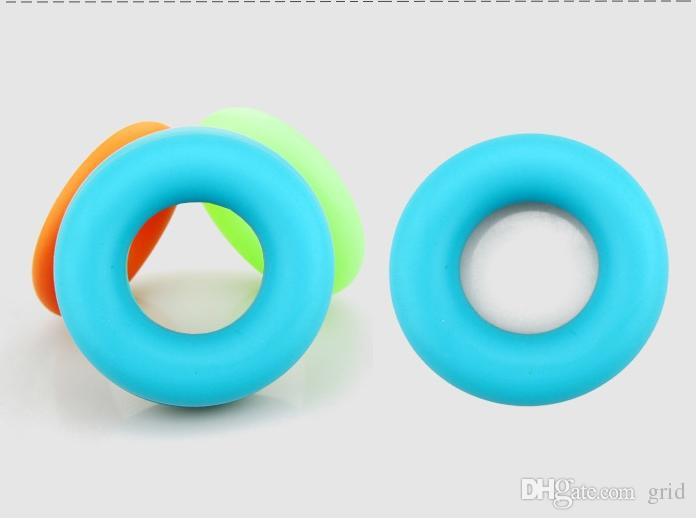 7cm Diameter Strength Hand Grip Ring Muscle Power Training Rubber Ring Exerciser Gym Expander Gripper Finger Ring